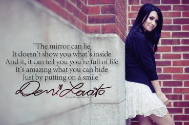 the mirror can lie