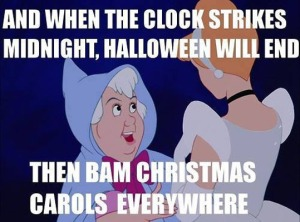 and when the clock strikes midnight halloween will be over