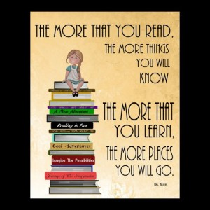 the more that you read the more you will know